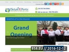 Thumbnail of DetailXPerts of Fox Cities Wisconsin Website