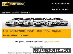 Miniaturka domeny foxrent.com.pl