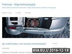 Miniaturka Francuzy - samochody Peugeot, Citroen oraz Renault (francuzy.zdrowy-web.pl)