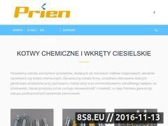 Miniaturka domeny www.franke-zamocowania.pl