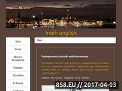 Miniaturka domeny fresh-english.pl