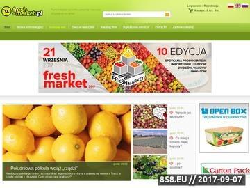 Zrzut strony Fresh-market.pl