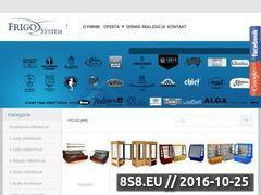 Miniaturka domeny www.frigosystem.com.pl