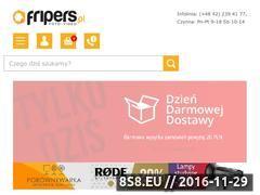 Miniaturka domeny www.fripers.pl
