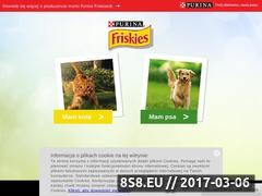Miniaturka domeny www.friskies.pl