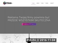 Miniaturka domeny www.frisson.pl