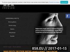 Miniaturka domeny www.fryzjer-men.pl