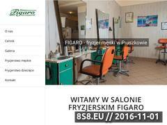 Miniaturka domeny www.fryzjer-pruszkow.pl