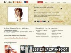 Miniaturka domeny fryzjerbielsko.pl