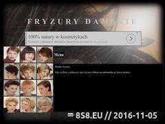 Miniaturka domeny fryzury.dla4.pl