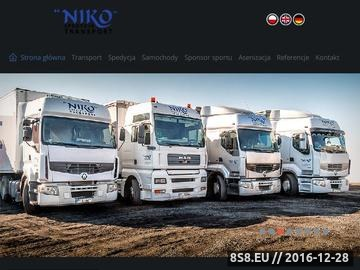 Zrzut strony Transport Leszno