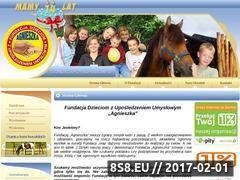 Miniaturka domeny www.fundacjaagnieszka.pl