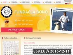 Miniaturka domeny fundacjabono.pl