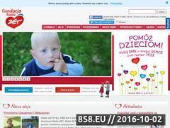 Miniaturka domeny www.fundacjaradiazet.pl