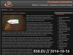 Miniaturka domeny www.fundusze-emerytalne.org.pl