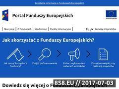 Miniaturka domeny www.funduszeeuropejskie.gov.pl