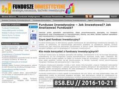 Miniaturka Fundusze inwestycyjne (funduszinwestor.pl)