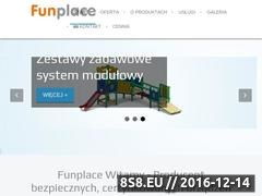 Place zabaw Website