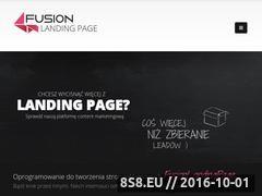 Miniaturka domeny fusionlandingpage.pl
