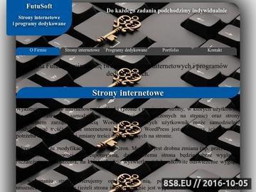 Zrzut strony Strony internetowe i programy dedykowane na zamówienie