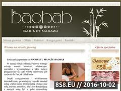 Miniaturka domeny www.gabinet-baobab.com