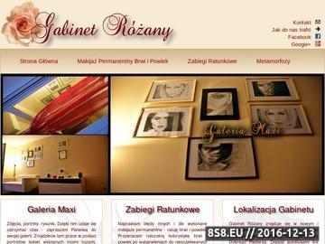 Zrzut strony Gabinet Różany