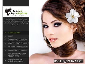 Zrzut strony Badanie trychologiczne - leczenie łysienia i kosmetyki