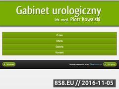 Miniaturka domeny www.gabineturologicznylodz.com.pl
