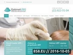 Miniaturka domeny www.gabinetusg.com.pl