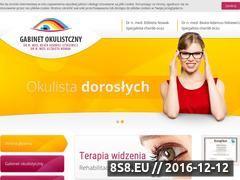 Miniaturka domeny gabinety-okulistyczne.pl