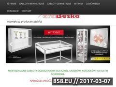Miniaturka domeny www.gabloty-arabeska.pl