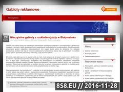 Miniaturka domeny gabloty-reklamowe.eu
