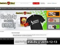 Miniaturka domeny gadzetyzsieci.pl