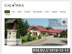 Miniaturka domeny www.gajowka.skoczow.pl