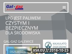 Miniaturka domeny www.gal-gaz.pl