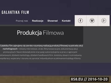 Zrzut strony Filmy eventowe Warszawa