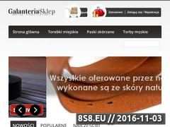Miniaturka domeny galanteriasklep.pl