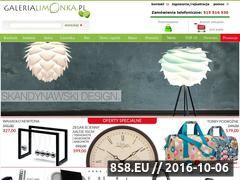 Miniaturka domeny www.galerialimonka.pl