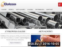 Miniaturka domeny www.galess.com.pl