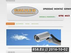 Miniaturka domeny www.galileosklep.pl
