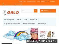 Miniaturka domeny www.galo.pl