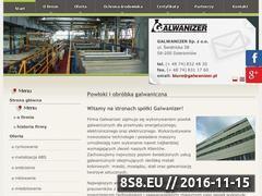 Miniaturka domeny www.galwanizer.pl