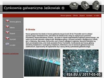 Zrzut strony Cynkowanie galwaniczne Bydgoszcz Jaśkowiak