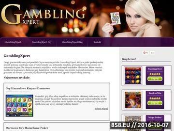 Zrzut strony Casino Automaty