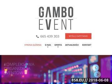 Zrzut strony Organizacja eventów