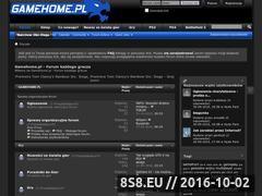 Miniaturka domeny www.gamehome.pl