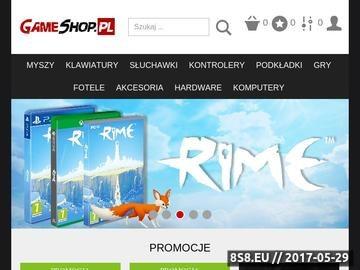 Zrzut strony Gameshop - gry, konsole, akcesoria,wymiana gier,Playstation3, PlayStation2, X360