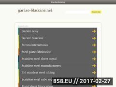 Miniaturka domeny garaze-blaszane.net