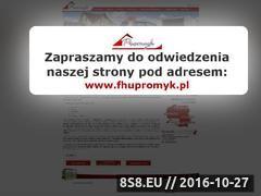 Miniaturka domeny www.garaze-promyk.pl