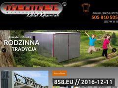 Miniaturka domeny garazemetalowe.pl